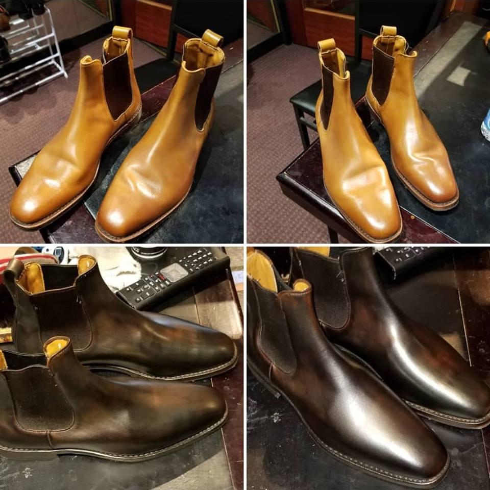 BandA Chelsea boots