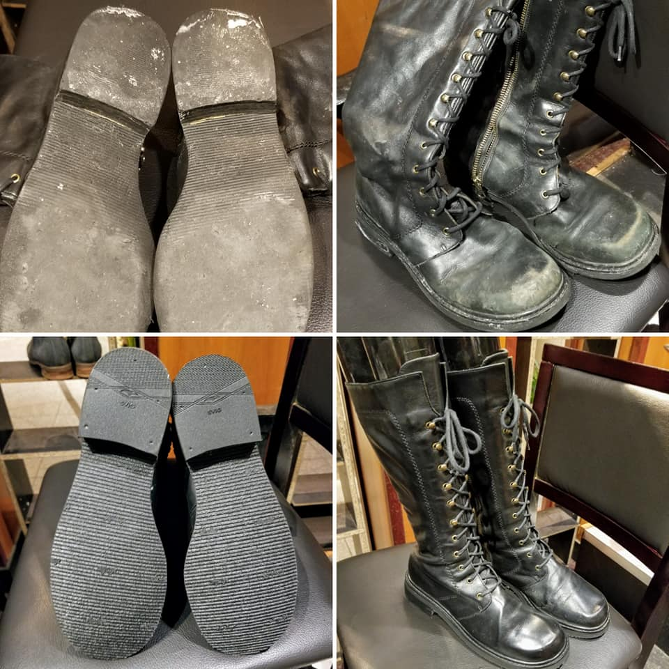 womens boots - Before and After 10-2019