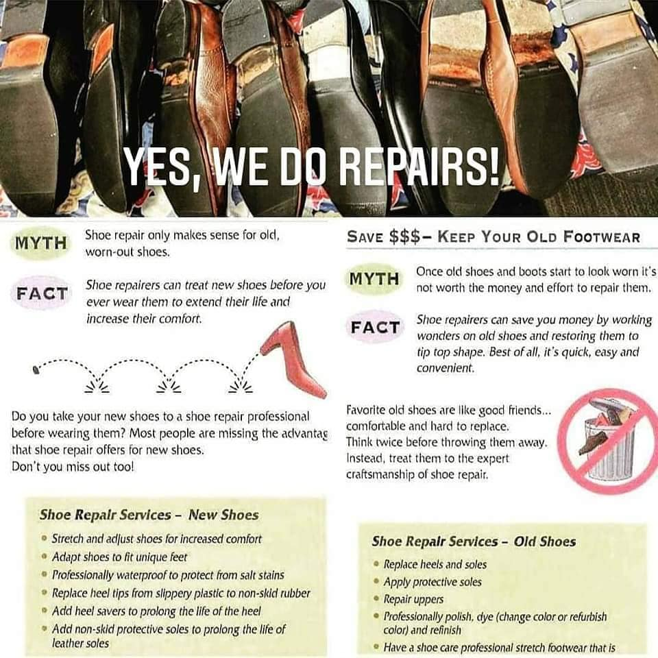 Yes - We do repairs - 2020
