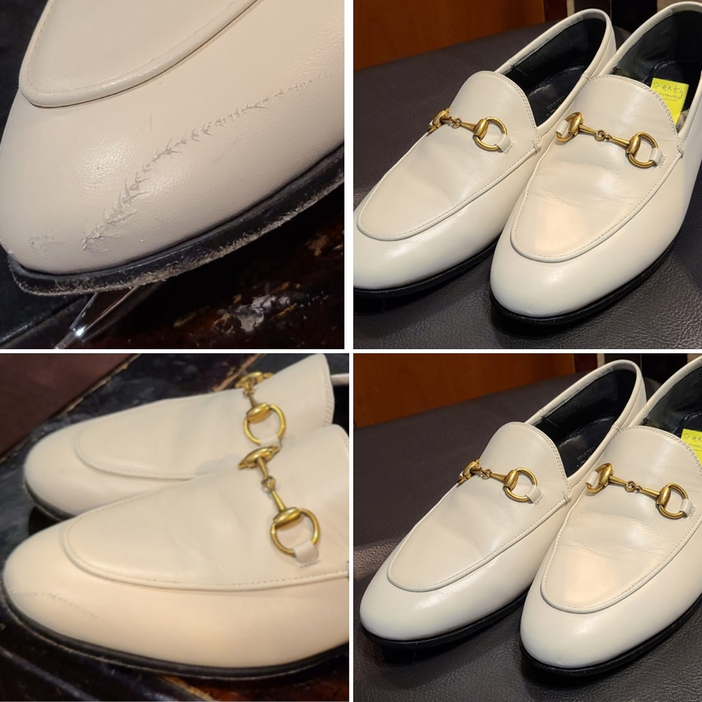 Womens Gucci with a scratch - Before & After - 2021